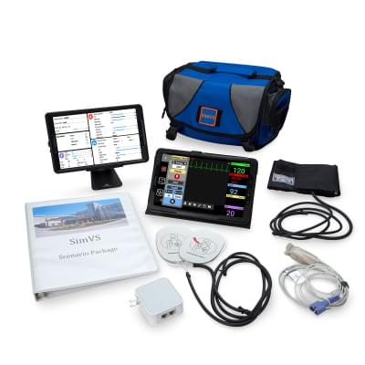 800102109 - SimVS Simulation Platform - SimVS Hospital Monitor and Defibrillator