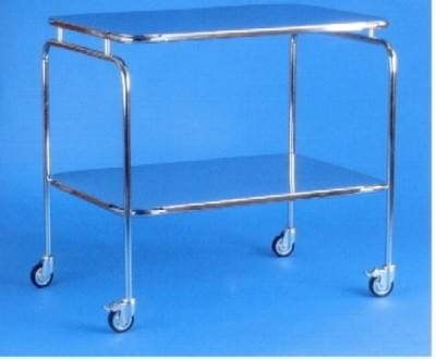 Large stainless steel table with drawer