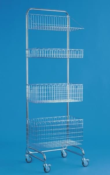 Modular basket 60 × 30 × 20 cm, stainless steel