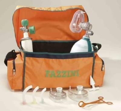 MEDICAL BAG - Resuscitating set bag with PVC lining