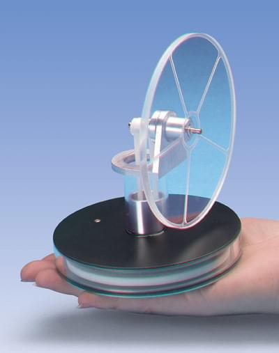 Low Temperature Stirling Engine, Acrylic