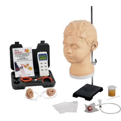 LF01066 - Diagnostic & Procedural Ear Trainer with Pneumatic Otoscopy Kit
