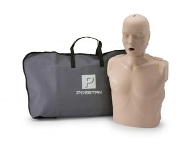 Professional Adult Medium Skin CPR-AED Training Manikin with CPR Monitor