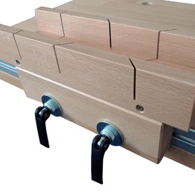 Pokosník včetně posuvné podložky s rychloupínáky