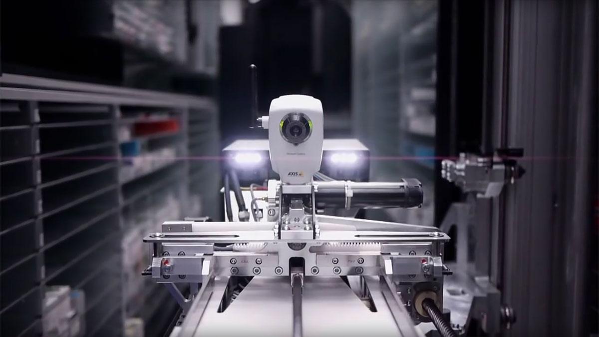 Rowa Smart Automated Storage System Helago Cz S R O