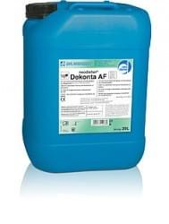 Desinfection and cleaning detergents