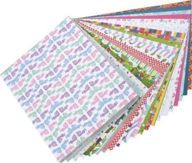 Origami Squares, 15 × 15 cm