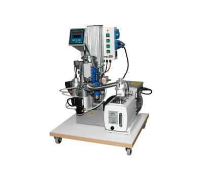 100328 - Oil diffusion pump system DP 63/4DP