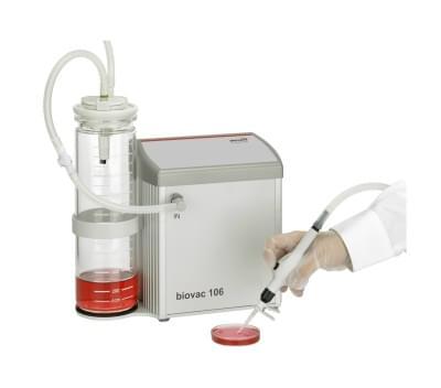 112037 - Aspiration system biovac 106 with 2L Glas Bottle