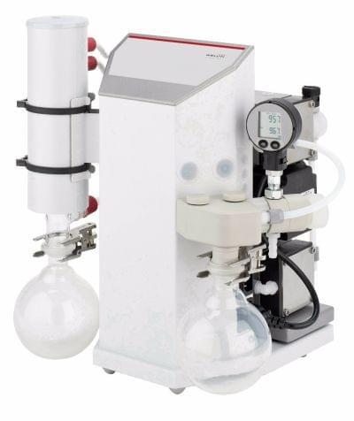 115037-10 - Pump system LVS 201 T with digital manometer