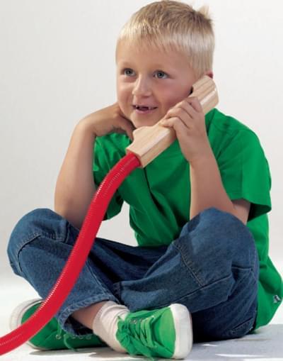 Hadicový telefon