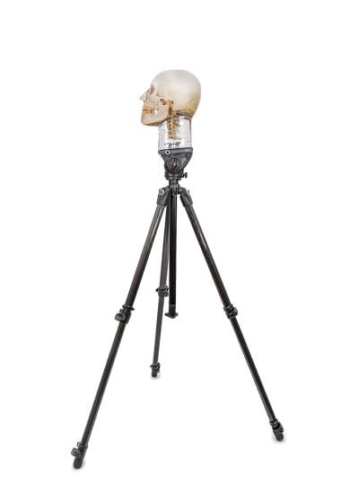 7350 - Tripod for X-ray phantom head