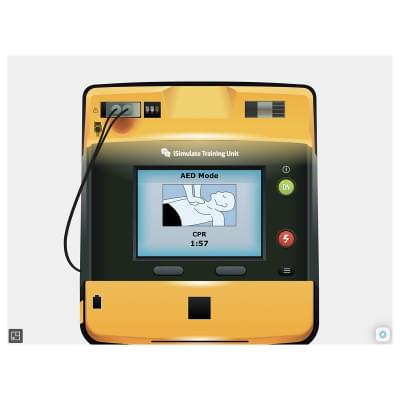8000970 - LIFEPAK® 1000 Patient Monitor Screen Simulation for REALITi360
