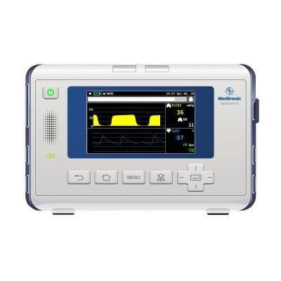 8000973 - Medtronic Capnostream™ 35 Patient Monitor Screen Simulation for REALITi360