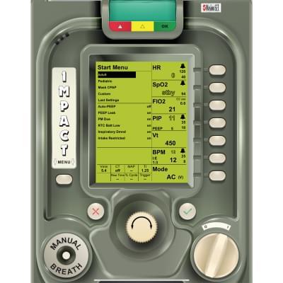 8001016 - ZOLL EMV+® Ventilator Screen Simulation for REALITi360