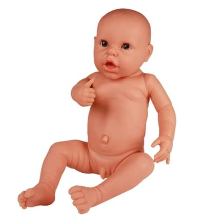 BA72 - NEONATE DOLL FOR NAPPY PRACTICE, MALE