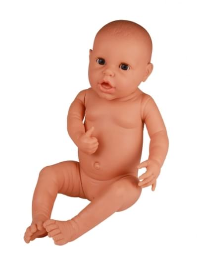 BA73 - NEONATE DOLL FOR NAPPY PRACTICE, FEMALE