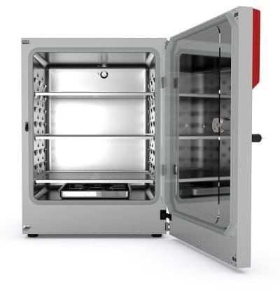 CB260 - CO2 incubator BINDER with hot air sterilization and heat sterilizable CO2 sensor