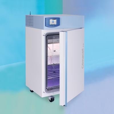 Climacell 111 ECO - Inkubátor s nucenou cirkulací, chlazením a řízenou vlhkostí