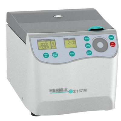 Kompaktní mikrolitrová centrifuga Z 167 M