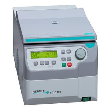 Mikrolitrová centrifuga Z 216 MK