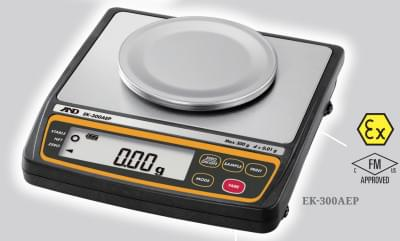 EK-300AEP - Jiskrově bezpečné kompaktní váhy