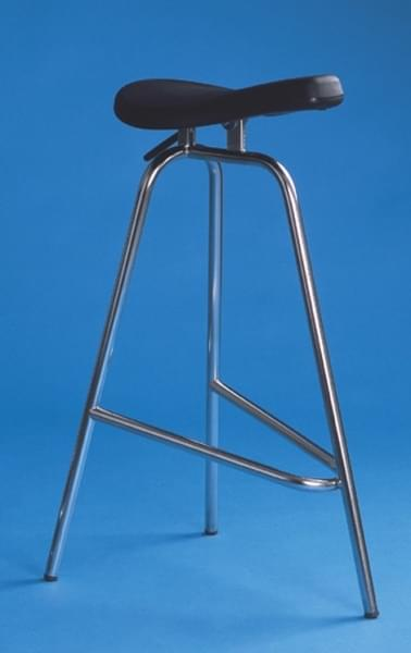 Operating theatre chair, stainless steel frame