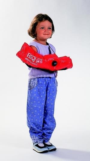 Child size vacuum arm splint