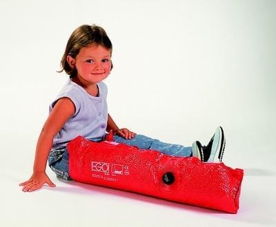 Child size vacuum leg splint