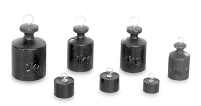 Set of Weights 100 g to 2 000 g