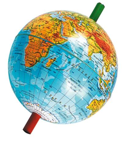 Globe with Bar Magnet