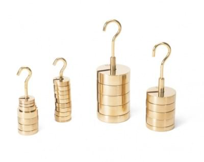 Set of Slotted Weights, 20 - 100 g