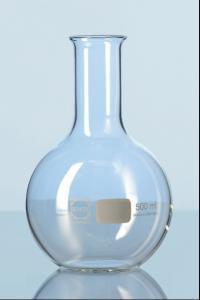 Baňka s plochým dnem, úzkohrdlá, 250 ml, DURAN