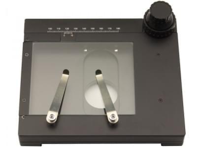 ST-110 - Pohyblivý stůl 185 × 145 mm, koaxiální posuv