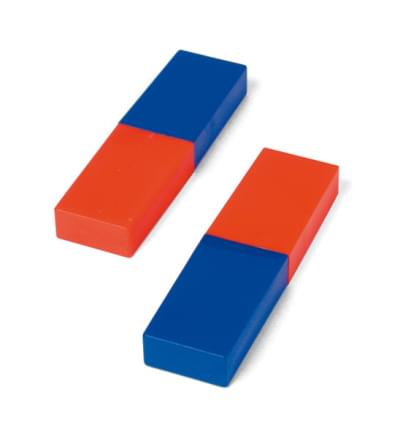 Pair of Bar Magnets, 80 mm