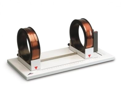 Helmholtz Coils on Mounting Plate