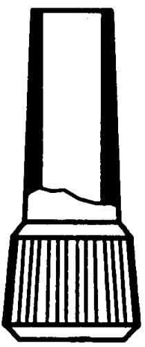 PE náustek pro dělené pipety