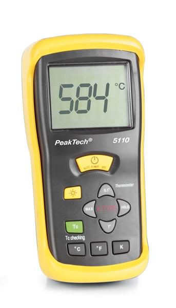 Digital Thermometer, 1 Channel