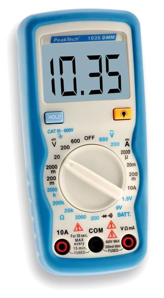 Digitální multimetr P1035