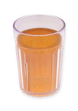 Apple juice in tumbler - 180 ml