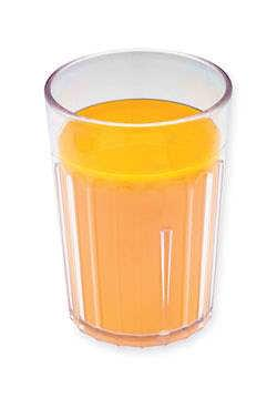 Orange juice in tumbler - 180 ml