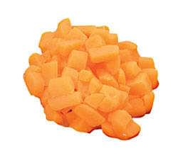 Carrots - diced