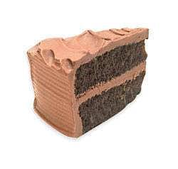 Cake - chocolate slice