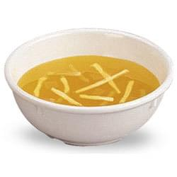 Soup - chicken noodle in bowl