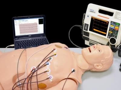 HAL S1020 - 12 lead ECG simulator with integrated MI model