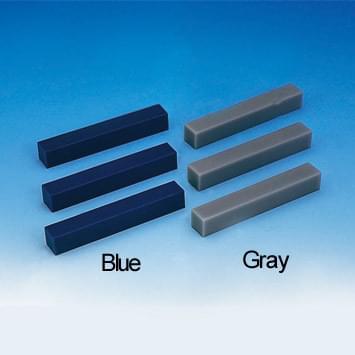 Wax Carving Block (15 × 15 × 100 mm) - 5 blocks set, gray