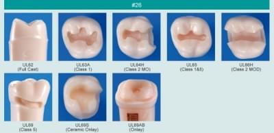Abutment, Cavity Preparation Tooth Model (#26)