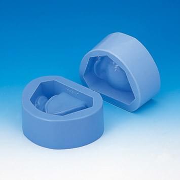 Plaster Model Mold (Edentulous Jaw) - mandible