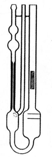 Viscometer Ubbelohde, type 0a - Oa
