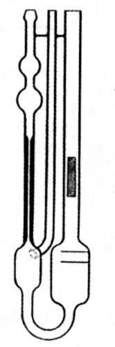 Viscometer Ubbelohde, type III - III